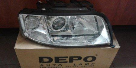 Predný svetlomet  pravý   AUDI A6  441-1192R-LD-EM H7/H1 1