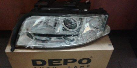 Predný svetlomet Lavý Audi A6 441-1134L-LD-EM H7/H1 1