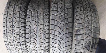 Zimne pneu + disky  4ks na Škoda Favorit 2