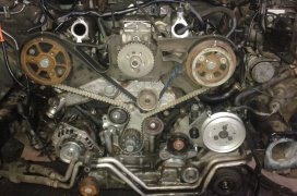 Výmena rozvodového remeňa - Audi A6 2.5TDI 110kW2001