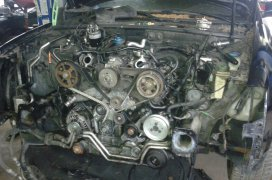 Výmena rozvodového remeňa - Audi A6 2.5TDI 110kW 2001